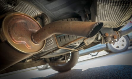 An exhaust pipe