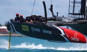 Emirates Team New Zealand have been the superior team in Bermuda