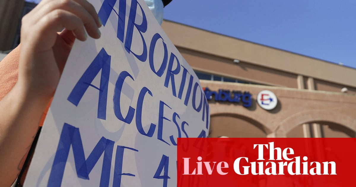 US supreme court refuses to block extreme Texas abortion ban – live