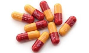 Antibiotic capsules