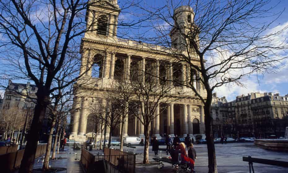 Place Saint-Sulpice, Paris.