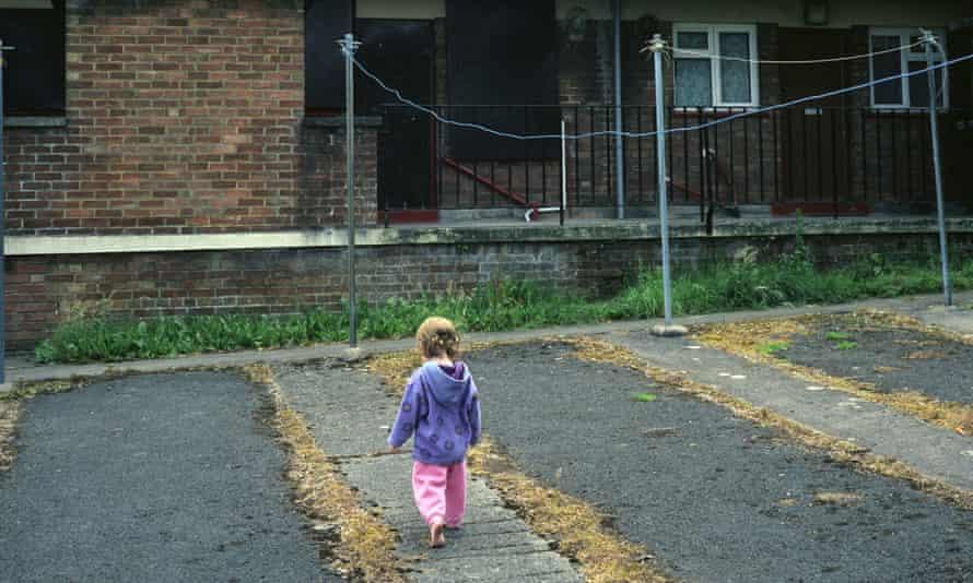 girl on council estate