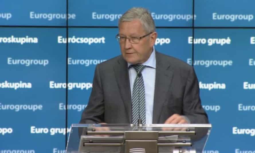 Klaus Regling, head of the European Stability Mechanism