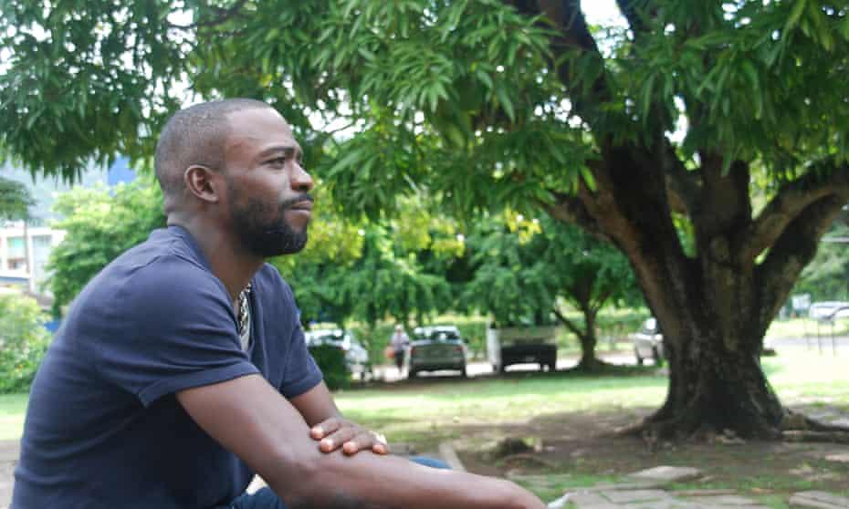 Jason in Kingston, Jamaica, in 2016.