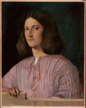 Giorgione, Portrait of a Young Man.