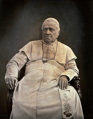 Pope Pius IX, c.1875.