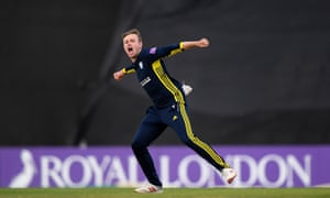 Mason Crane stepped up for Hampshire against Sussex.