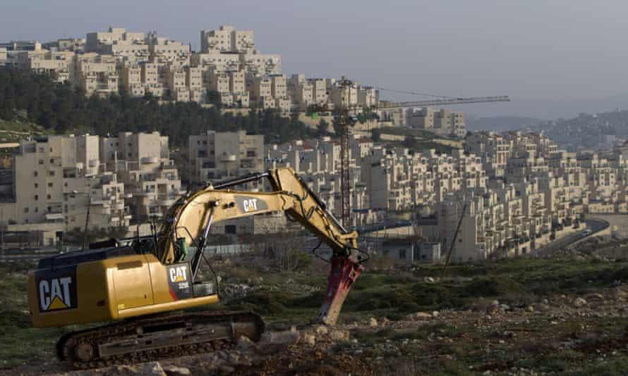 New construction in the Israeli settlement of Har Homa in East Jerusalem in 2014