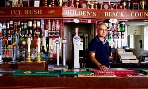 Lakhbir 'Lacky' Singh Gill, landlord of the Ivy Bush, Smethwick, West Midlands