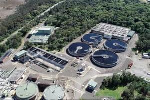 Cronulla sewage treatment facility