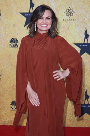Lisa Wilkinson goes with the flow.