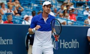 Andy Murray was beaten by Richard Gasquet in Cincinnati last week in his first singles match since the Australian Open.