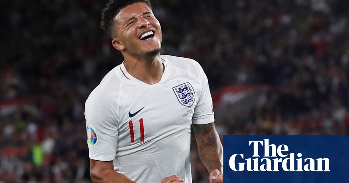Jadon Sancho the difference as blunders mar England's 5-3 win against Kosovo