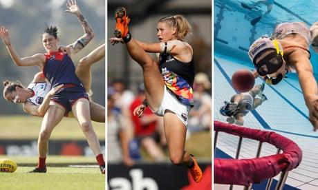 Tayla Harris photograph wins inaugural women in sport award