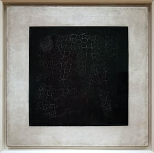 Black Square by Malevich (1915).