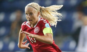 Pernille Harder helped Denmark to finish runners-up at Euro 2017 and believes that changed perceptions of women's football in her homeland.