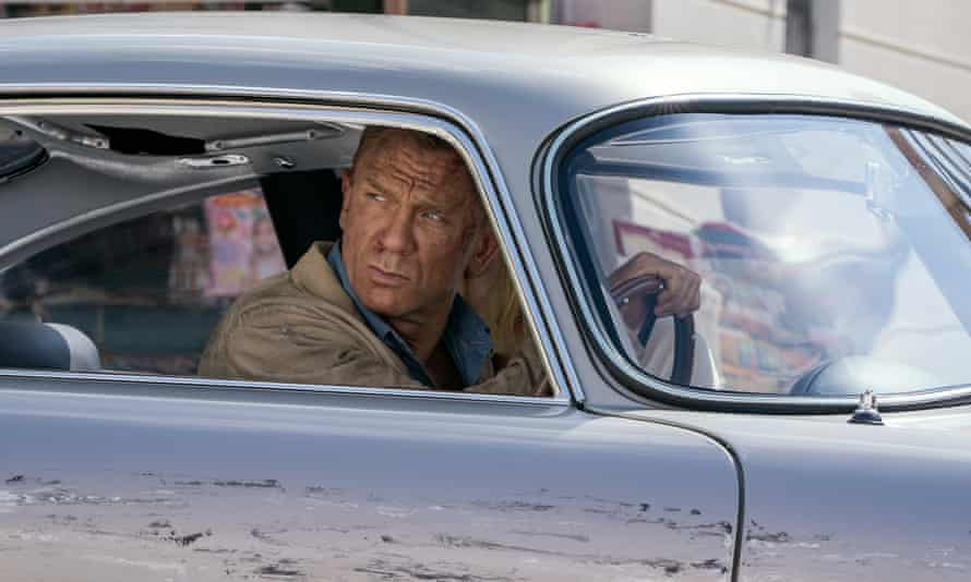 Daniel Craig in No Time to Die, the 25th film in the James Bond franchise which has grossed more than $7bn.