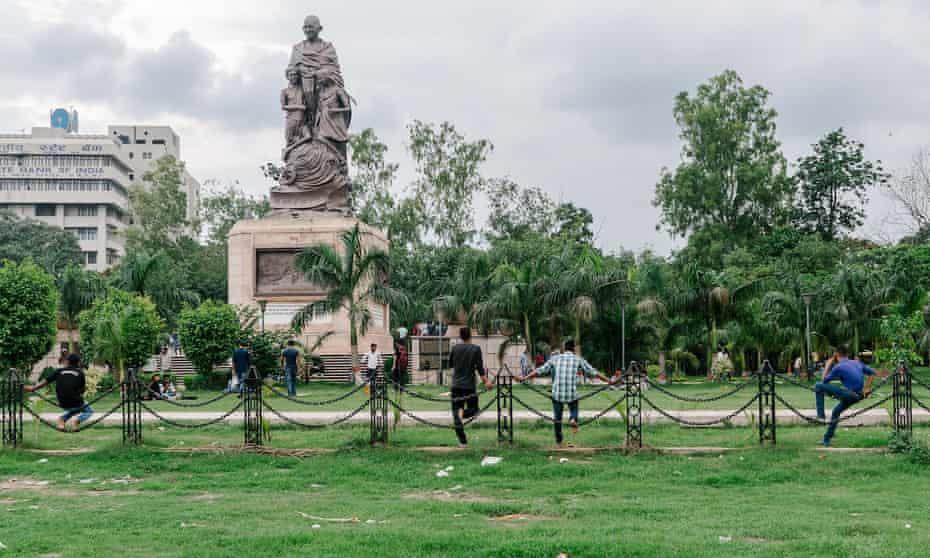 Gandhi Maidan Park, in Patna, Bihar