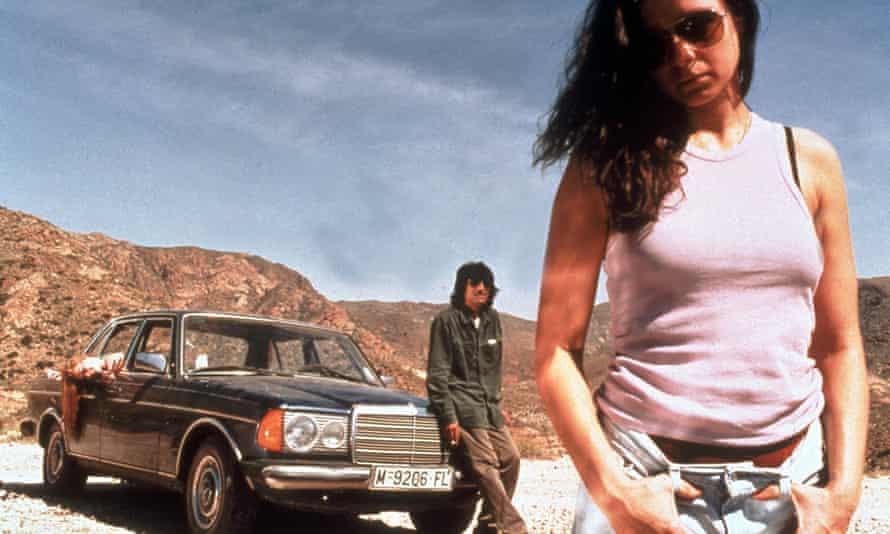 The 2002 film adaptation of Morvern Caller, starring Samantha Morton.