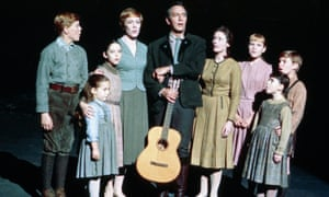 An adorable singing troupe … the Von Trapps plus singing nanny.
