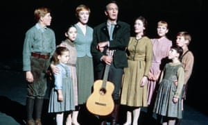 The von Trapp family as portrayed in The Sound of Music