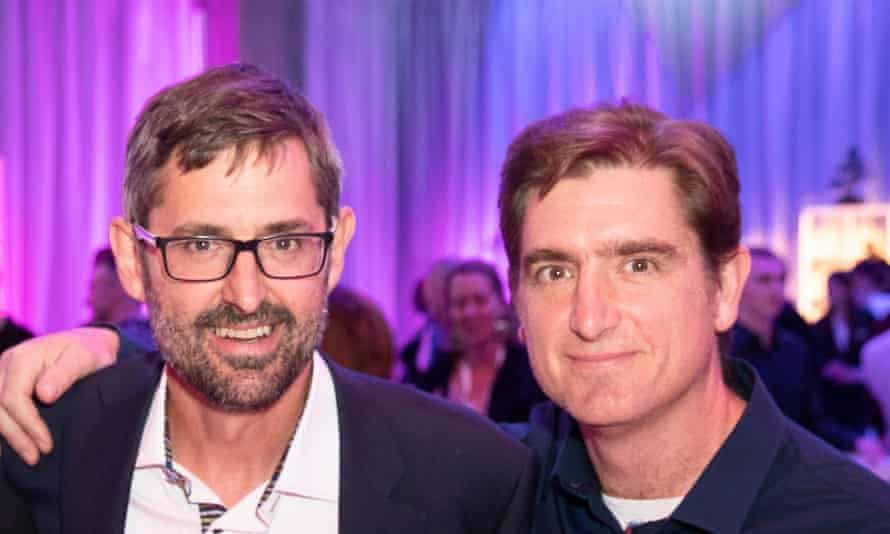 'I found it intimate and honest and revealing': Louis Theroux, left, with his brother Marcel, on his mother Anne's book.
