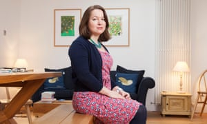Rachel Clarke at home