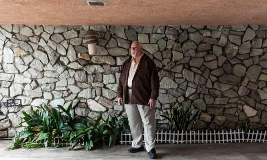 Steve Hodel at home in Sherman Oaks, CA.