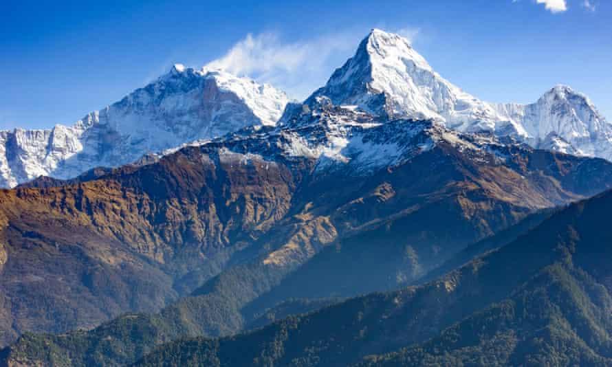 Annapurna, where Nirmal Purja and his team rescued a fellow climber during their descent.