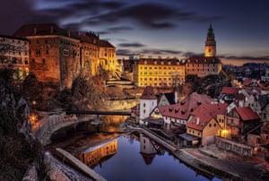 Photographer Petr Kubát captures the city of Český Krumlov in South Bohemia, Czech Republic