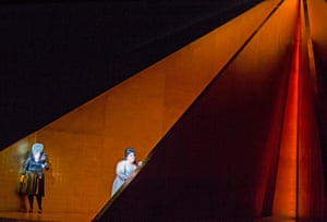 'I'm loving working with light' … Kapoor's set.