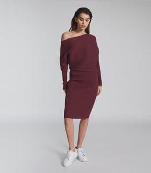 Burgundy, £185, reiss.com