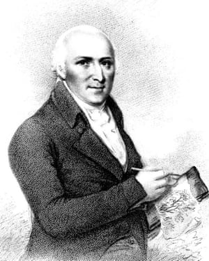 Humphry Repton in 1800.