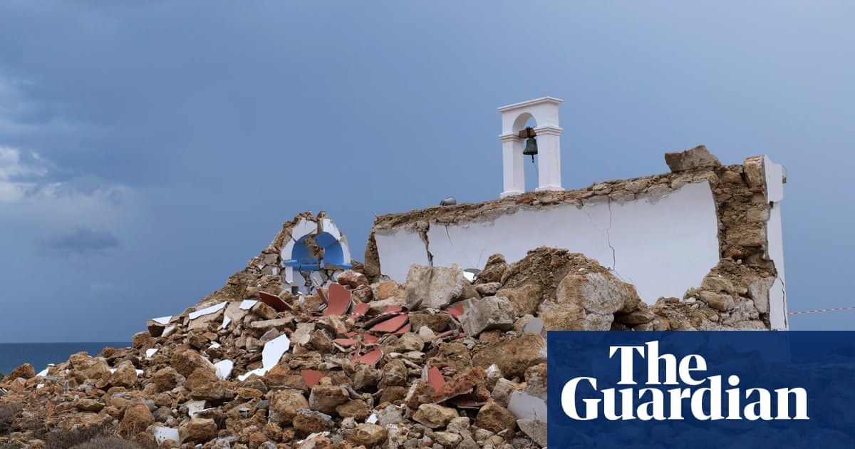 Greek island of Crete rocked by second earthquake in two weeks
