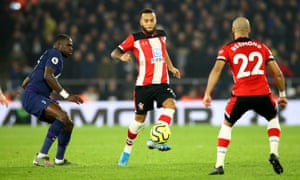 Ryan Bertrand, in action for Southampton against Tottenham, has been involved in two business ventures.