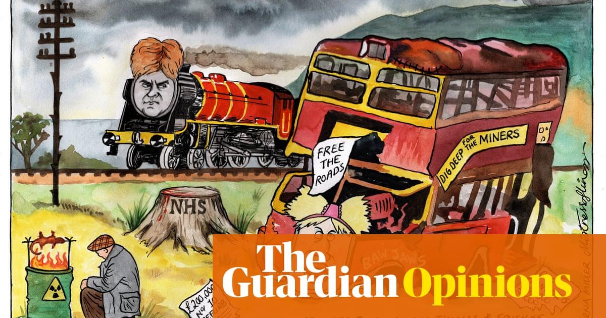 Lorna Miller on Boris Johnson's trip to Scotland — cartoon