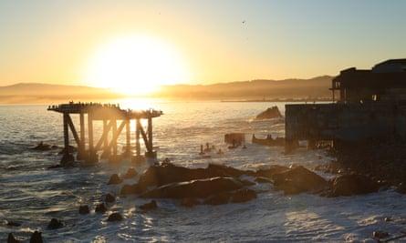 Santa Cruz, California … Al-Khalili's Sunfall imagines the threat of global meltdown