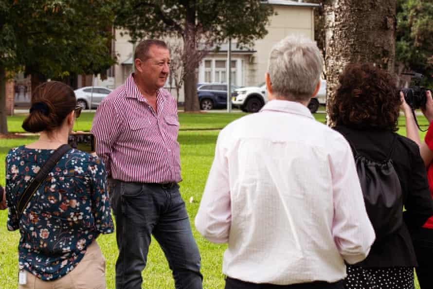 ALP candidate Jeff Drayton