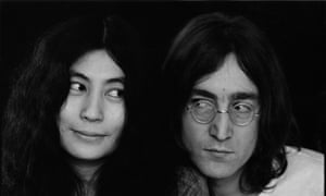 Still dreaming ... Yoko Ono and John Lennon.