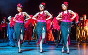 A scene from 42nd Street @ Theatre Royal Drury Lane.