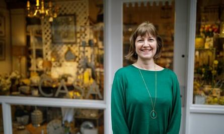 Susi Mason at her shop Casa Fina in Salisbury.