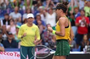 Fed Cup final, Australia celebrate