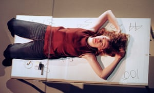 Madeleine Potter in 4.48 Psychosis by Sarah Kane, directed by James Macdonald, in 2000.