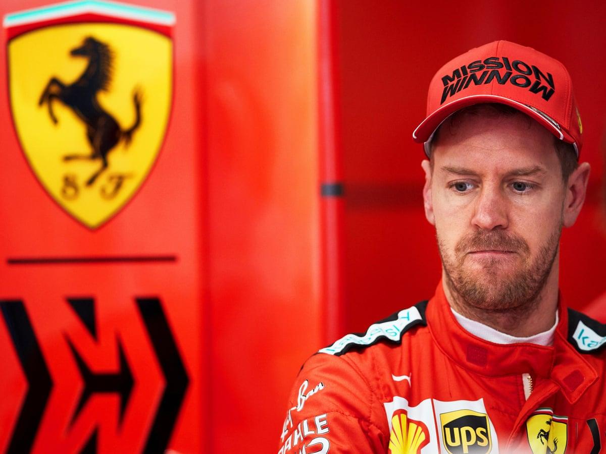 Sebastian Vettel Will Leave Ferrari Having Failed To Bring Back Glory Days Sebastian Vettel The Guardian