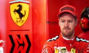 Sebastian Vettel's grip on the No 1 spot at Ferrari was slipping with the emergence of Charles Leclerc