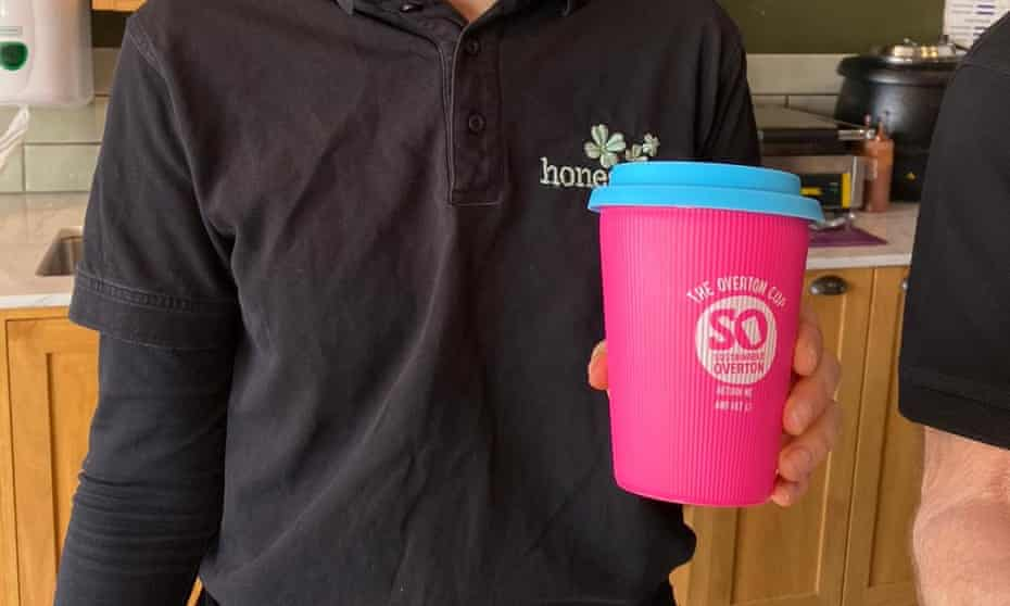 The Overton reusable cup
