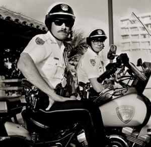 Collins Avenue, South Beach, 1989