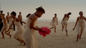 Image from Dancing at Dusk - A Moment with Pina Bausch's The Rite of Spring.