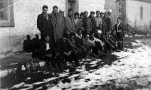 Imprisoned Algerian Communist party activists during the war of independence