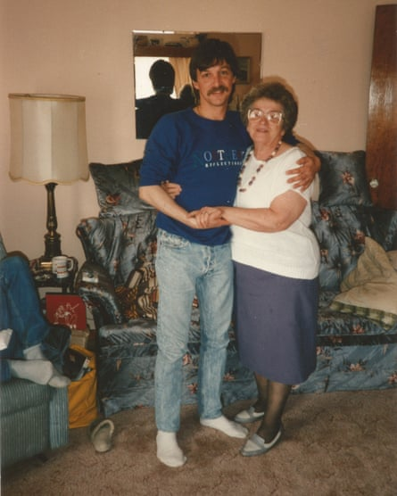Joe and his mother.